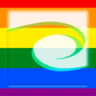 CAPTC Logo as a LGBTQ Pride Rainbow